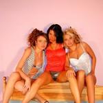 Pretty Three Lesbos